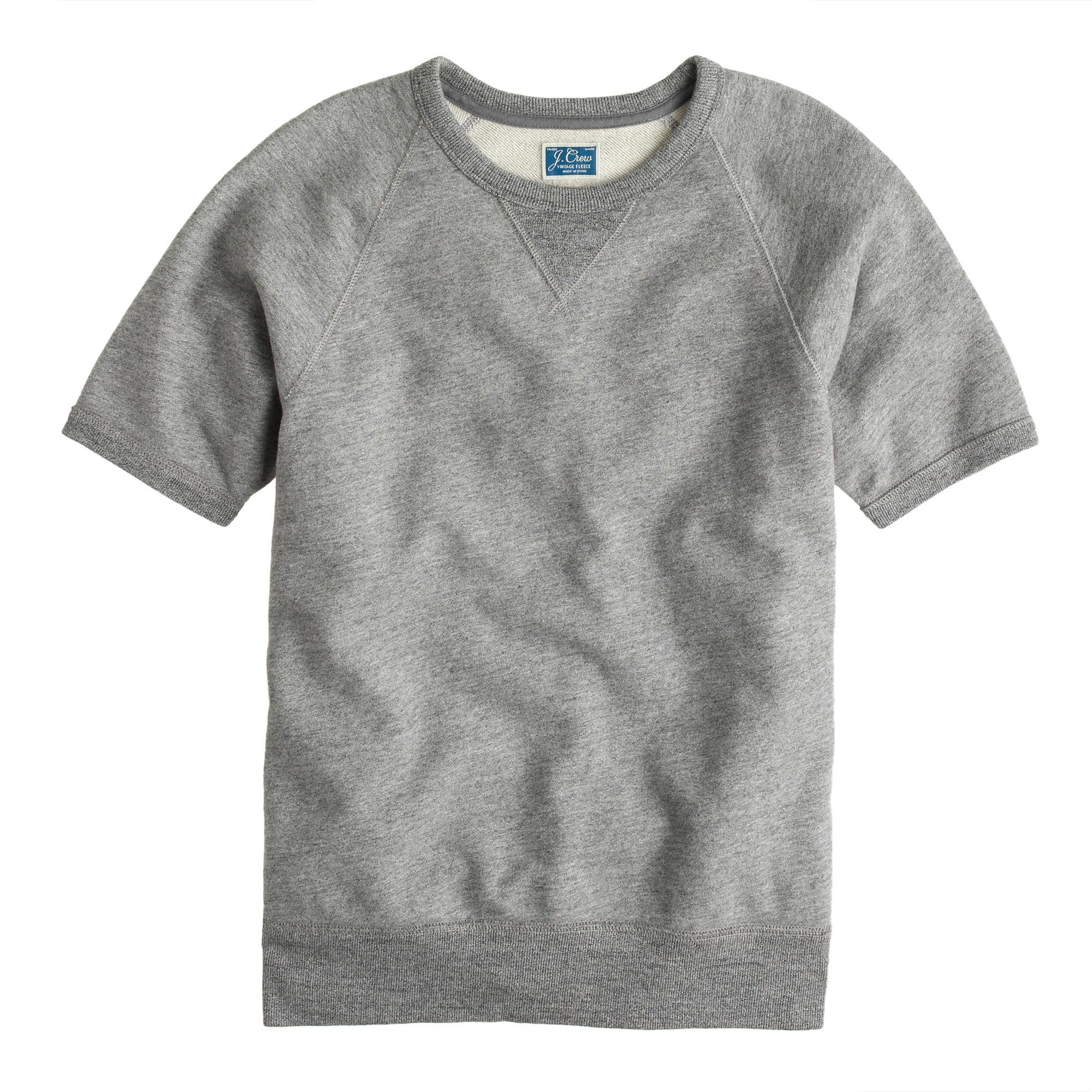 Short-sleeve sweatshirt : | J.Crew
