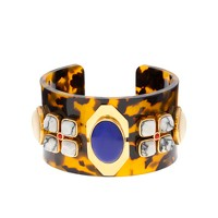 Tortoise and stone cuff