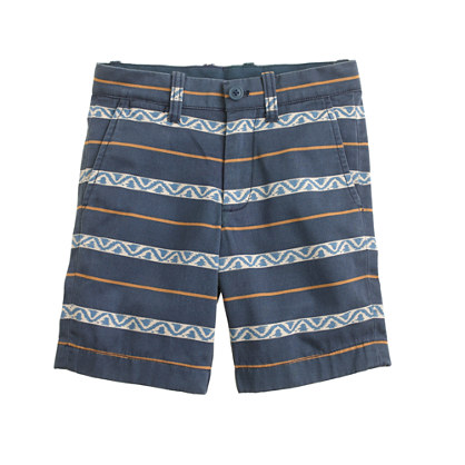 Boys' Stanton short in mixed stripe
