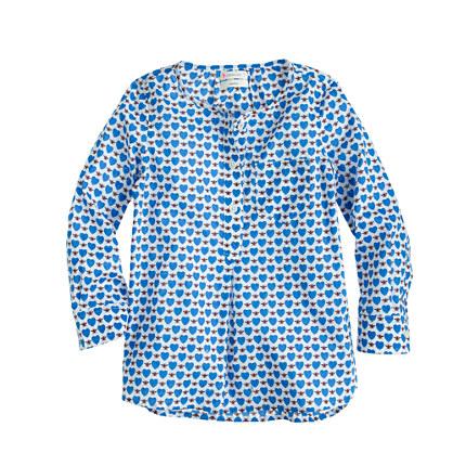 Girls' tunic in honeypie print