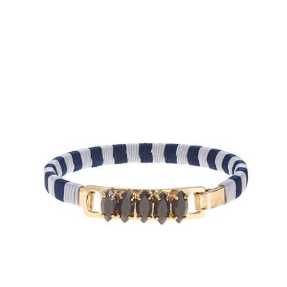Stripe navette bracelet
