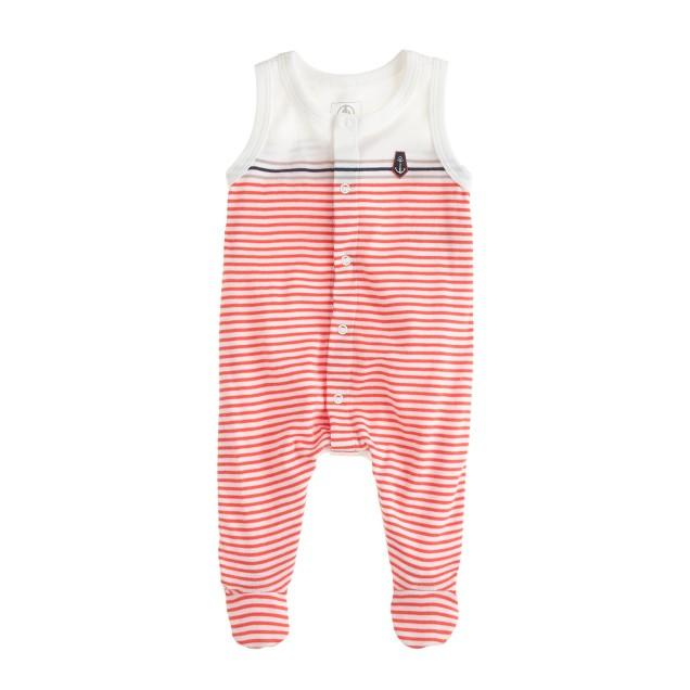 Baby Petit Bateau® sleeveless crawler