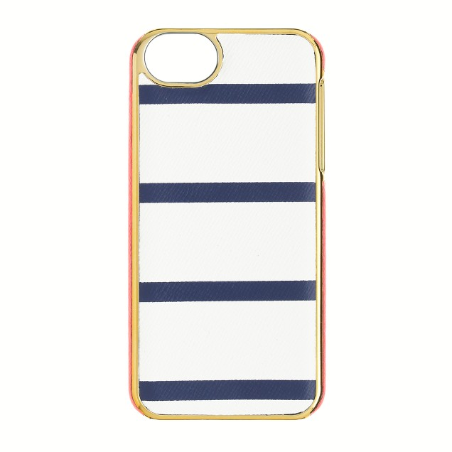 Stripe leather case for iPhone® 5/5S
