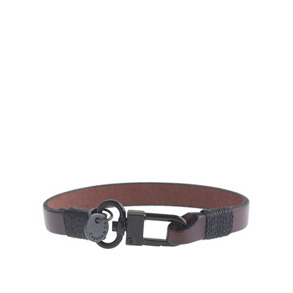 Caputo & Co. clean leather bracelet
