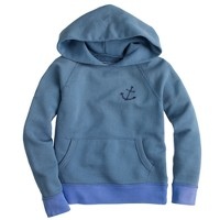 Boys' anchor pocket hoodie