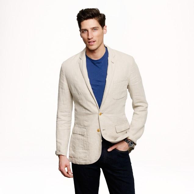 Ludlow sportcoat in Irish linen