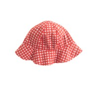 Baby Petit Bateau® reversibile sun hat in polka dot