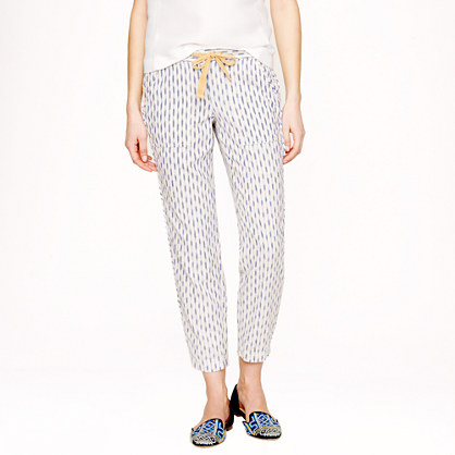 Arrow ikat pull-on pant
