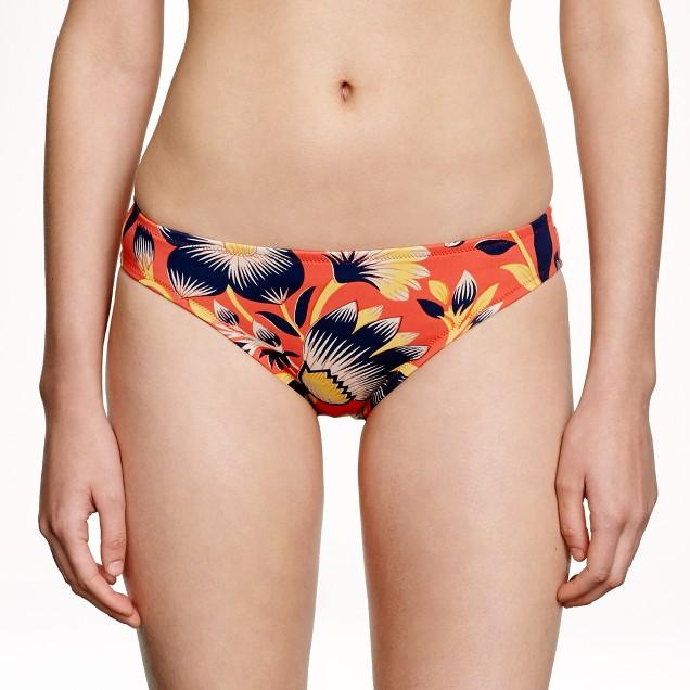 Hibiscus floral bikini