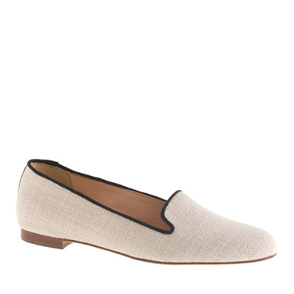 Cleo canvas loafers