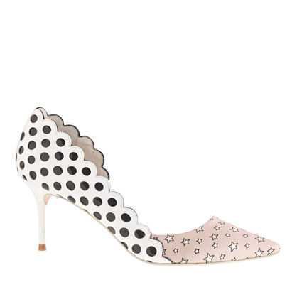Sophia Webster™ for J.Crew Anneka kitten-heel pumps
