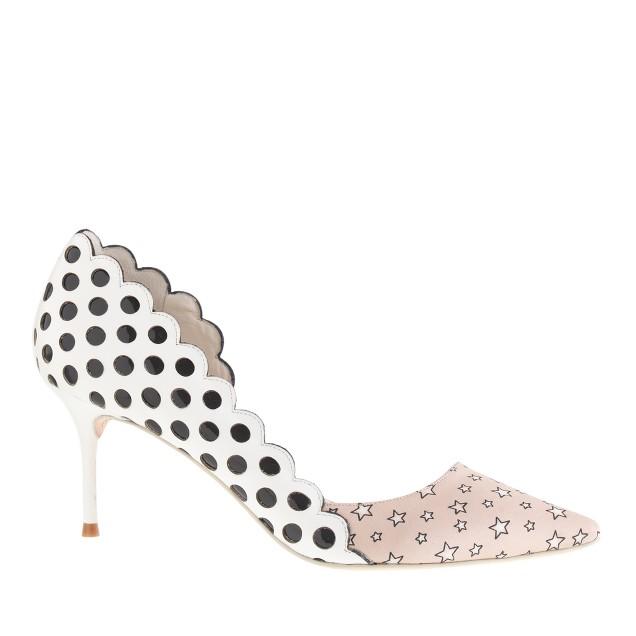 Sophia Webster™ for J.Crew Anneka kitten-heel pumps