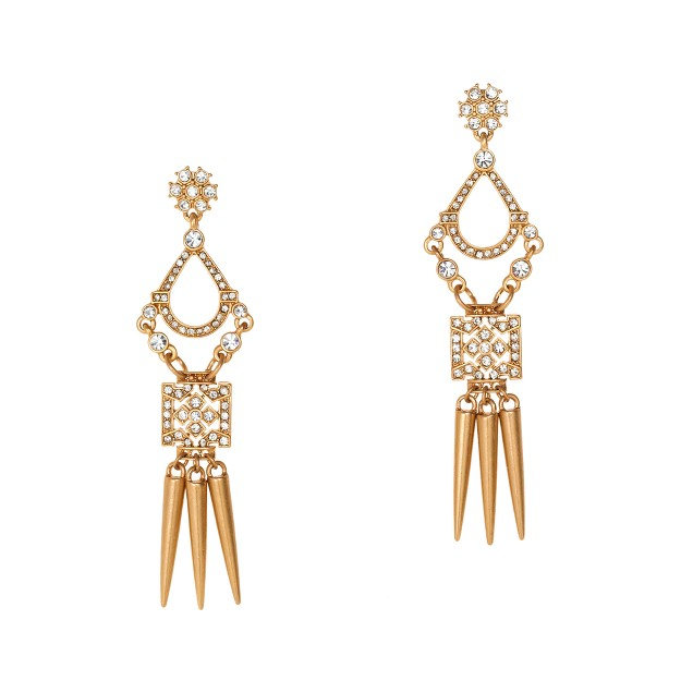 Chandelier spike earrings