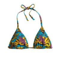 Bantu Wax® for J.Crew Stir It Up bikini top in frog print