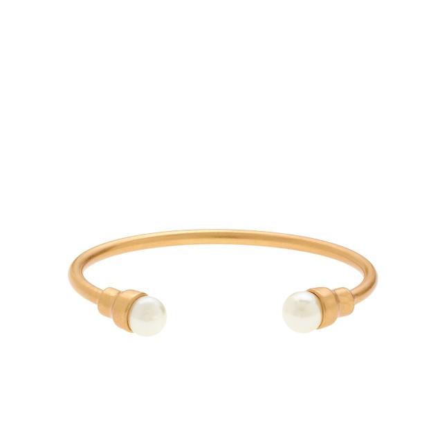 Pearl open bangle