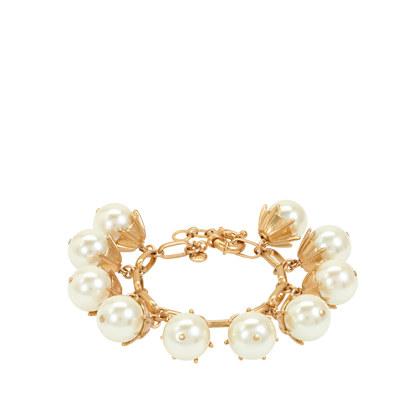 Pearl drop bracelet
