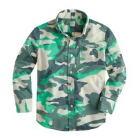 Boys' shirt in camo