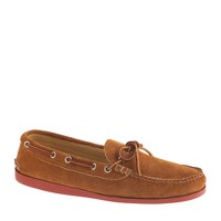 Men's Quoddy® for J.Crew suede canoe moccasins