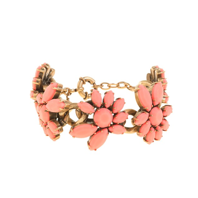 Flower petals bracelet
