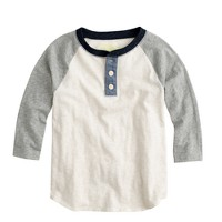 Boys' baseball henley