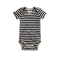 Baby one-piece in classic stripe
