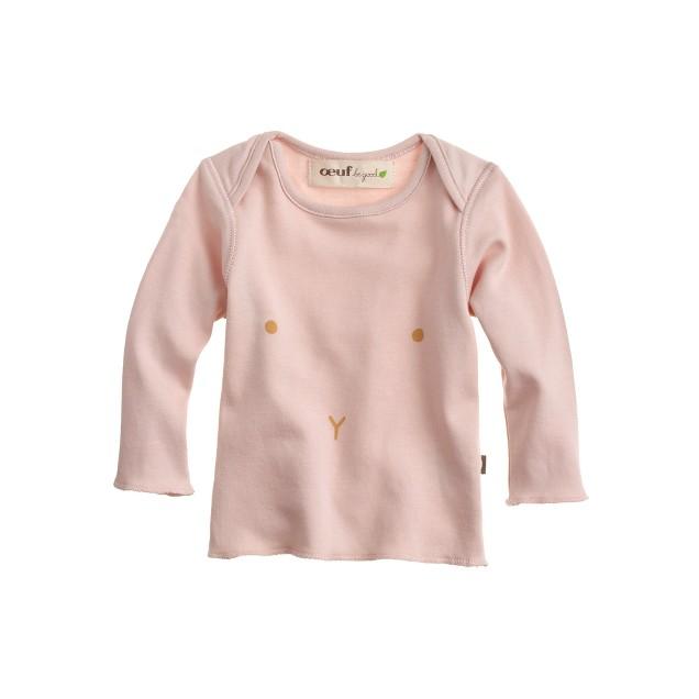 Baby Oeuf® long-sleeve bunny tee