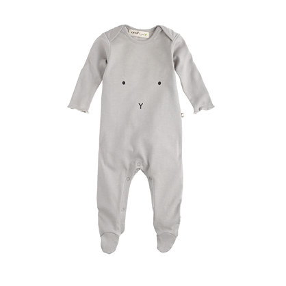 Baby Oeuf® bunny footed one-piece
