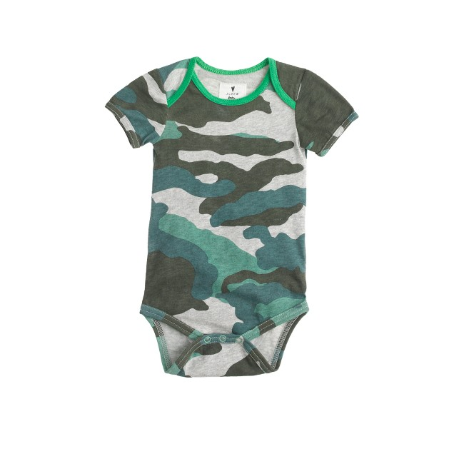 Baby one-piece in camo