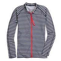 Pret-à-Surf® for J.Crew navy-stripe rash guard
