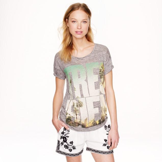 Linen T-shirt in très bien