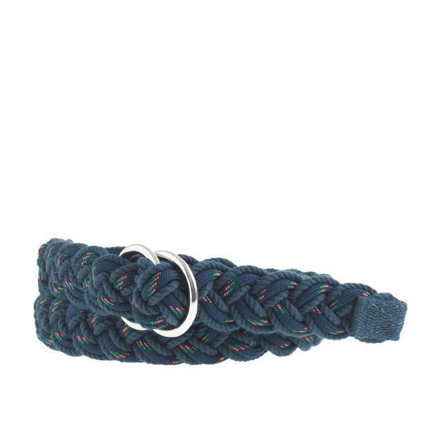 Mountaineer D-ring belt