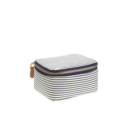 Stripe jewelry case