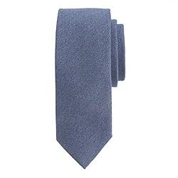 Drake's® silk melange tie in herringbone