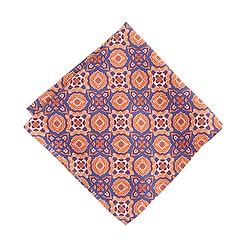 Drake's® silk pocket square in giant foulard