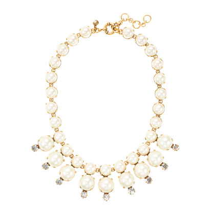 Pearl starburst necklace