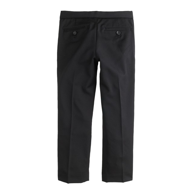 Boys' slim Ludlow tuxedo pant in Italian wool