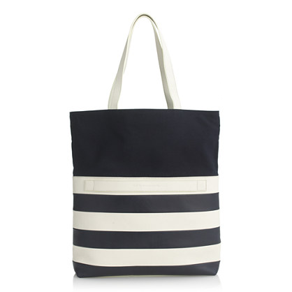 WANT Les Essentiels De La Vie™ for J.Crew Stripe medium two-way tote