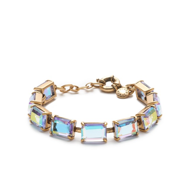 Rectangle gem bracelet