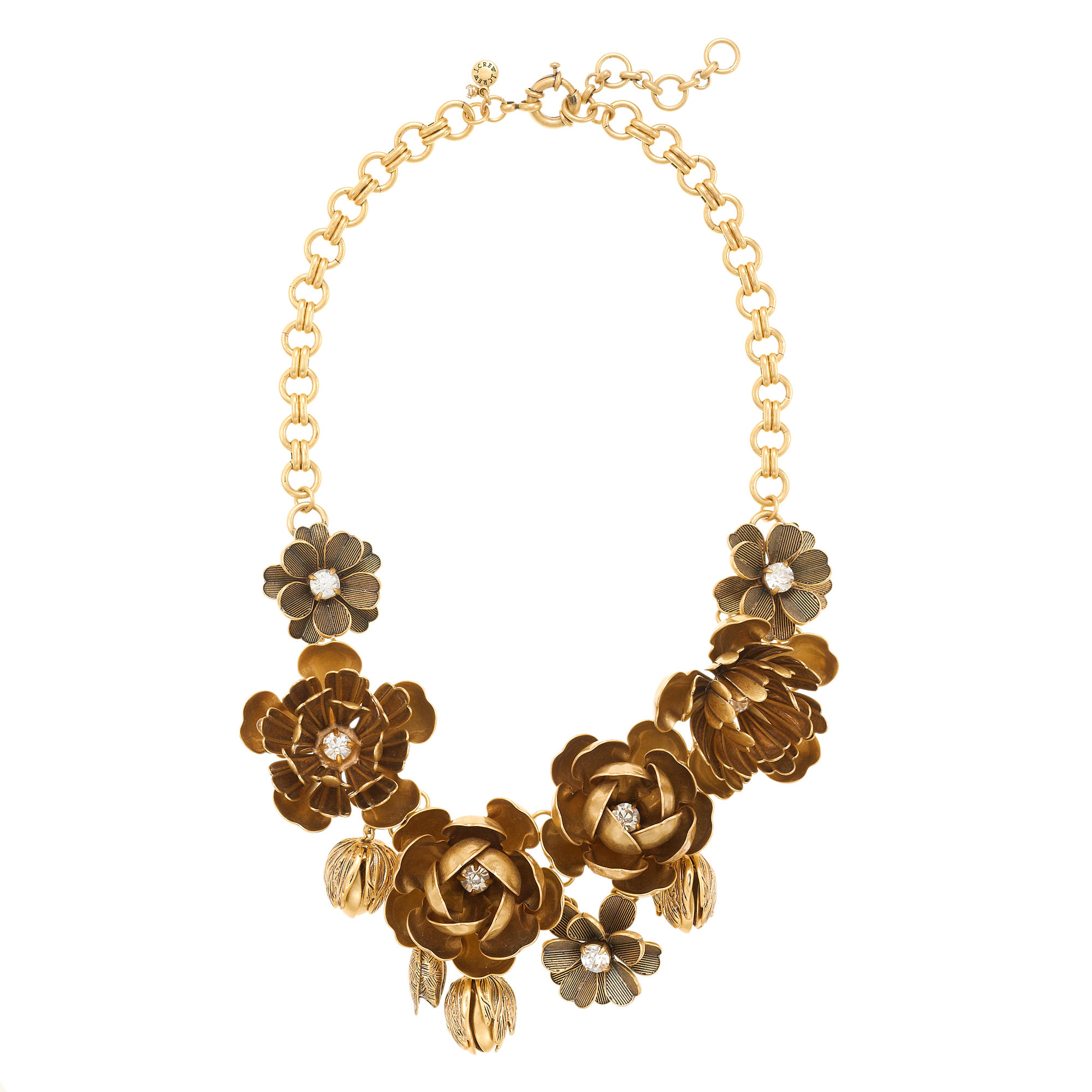 j jewelry wildflower necklace j crew 3132