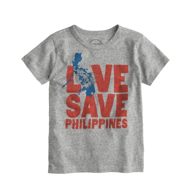 Kids' crewcuts for the Philippines tee