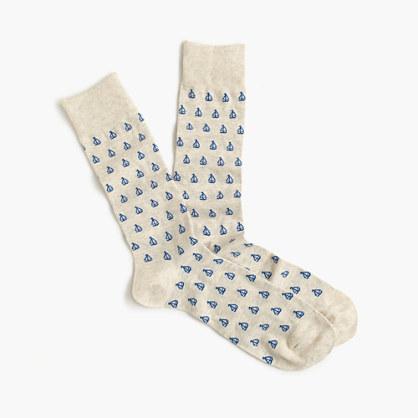 Sailboat socks