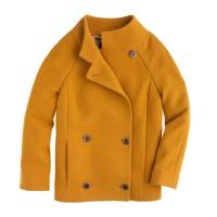 Double-cloth car coat