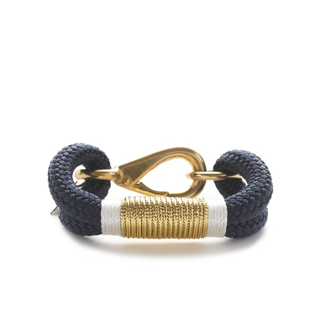The Ropes™ metallic Kennebunkport 9mm rope bracelet