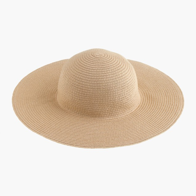 Girls' floppy sun hat