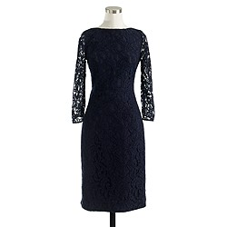 Natalia dress in Leavers lace
