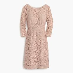 Natalia dress in Leavers lace