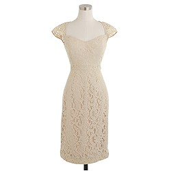 Tinsley dress in Leavers lace