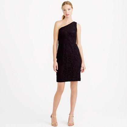 Alexa dress in Leavers lace