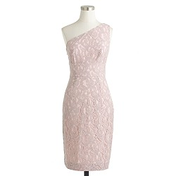 Alexa dress in Leavers lace