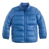 Kids' lightweight down puffer jacket